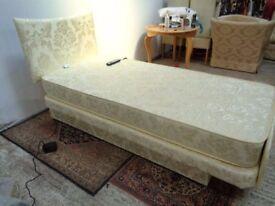 Single ADJUSTAMATIC AVEON MATTRESS ADJUSTABLE CARE BED