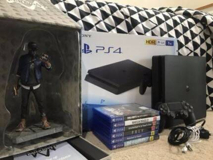 1TB PS4 Console Bundle - Literally Like New