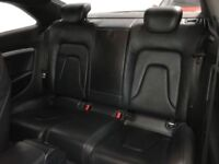 AUDI A5 S-LINE REAR SEATS BENCH BLACK SILK NAPPA LEATHER / 3 DOOR COUPE