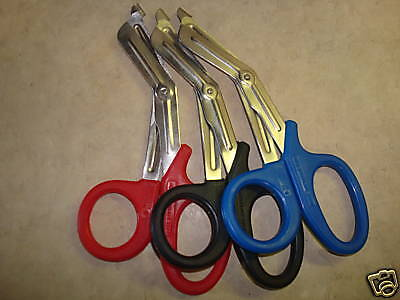 3 Nursing Emt Shears Scissors Bandage Paramedic Ems 5.5