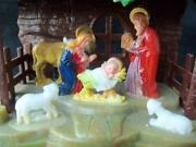 Plastic Nativity Set