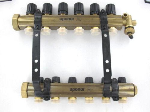 Uponor TruFLOW Jr. Manifold Assembly, B&I, 6-loop A2660601