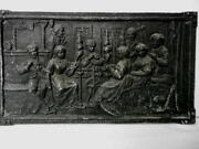 Gusseisen Relief