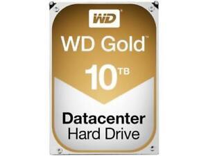 WD Gold 10TB Datacenter Hard Drive 7200 RPM SATA 6 Gb/s 256MB