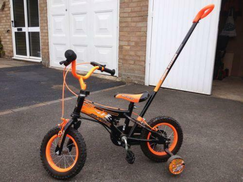 Bike With Parent Handle Ebay