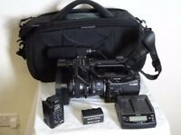 Sony HVR- Z7 Professional Camcorder with MRC-1 CF Recorder, Tripod and Radio Mic