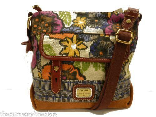 Fossil Floral Handbag Ebay