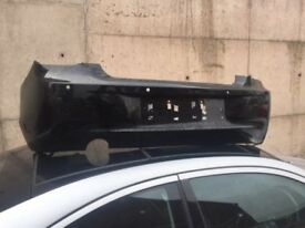 BMW F20 SPORT REAR BUMPER IN BLACK WITH PDC HOLES