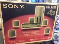 SONY DAV-S300 AMPLI-TUNER DVD CD SYSTEM