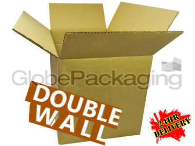 10 X-LARGE D/W CARDBOARD REMOVAL MOVING BOXES 18x18x18 - DOUBLE WALL *OFFER*