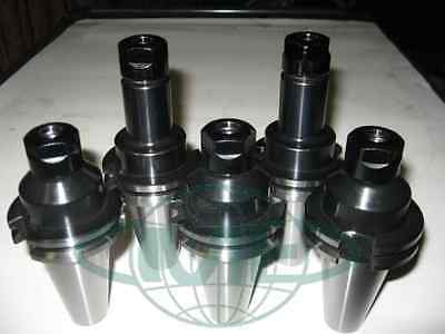 Cat40-er16 Collet Chuck-shortlong-total 5 Chucks-new Tool Holder Set