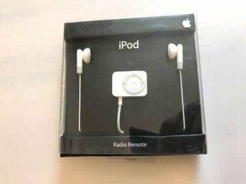 Apple iPod FM Radio Remote with Earbuds MA070G/B Opened Box