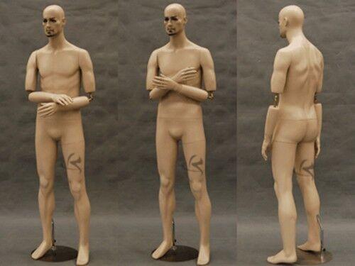 Male Mannequin Manequin Manikin Dress Form Display #MD-BC8