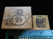 Teapot Rubber Stamp