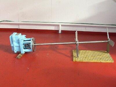 Chemineer 5 Hp Process Mixer Agitator Model 16tnc-5 Rpm 1800