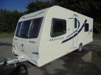 Bailey Pegasus Rimini Caravan 2013 4 Berth + Caravanstore Awning + Equipment