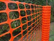 Plastic Mesh Fencing