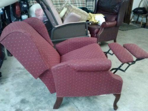 Burgundy Recliner Furniture Ebay