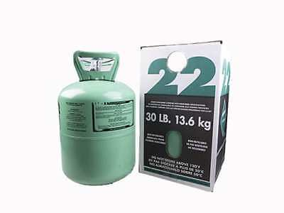 30 Lb.new R-22 Virgin Refrigerant Factory Sealed Free Same Day Shipping By 3pm
