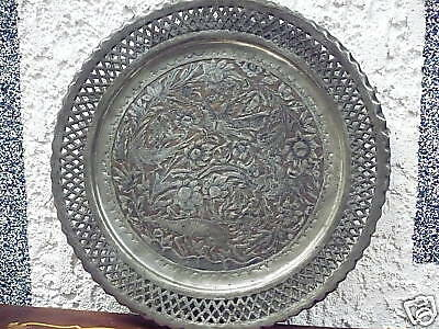 alter__gr.Kupfer - decorative plate__Motifs studded__40cm