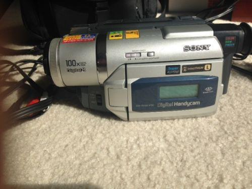 Sony Vhs Camcorder