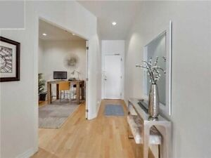 Beautiful, specious bright 865 ft.² 1+den 2 bath condo for rent