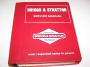 Briggs and Stratton Repair Manual