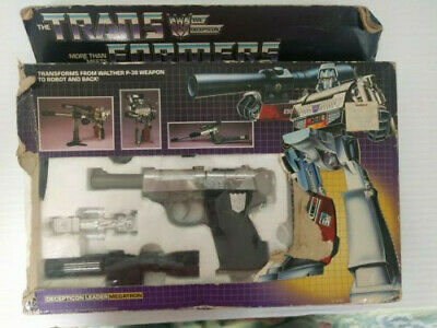 Transformers MEGATRON G1 excellent with fair box, complete