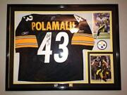 Troy Polamalu Signed Jersey