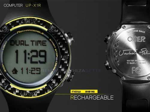 Omer UP-X1R Computer Sub Cardio Pelizzari Rechargeable Frediving Rechargable