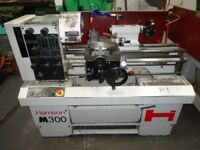 HARRISON M300 GAP BED CENTRE LATHE 25 INCHS