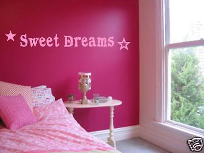 edroom Nursery Wall Art Decal Vinyl Words Lettering 24