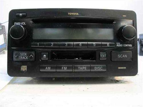 Tundra OEM Radio | eBay on 2004 saturn radio wiring diagram, 2004 freelander radio wiring diagram, 2004 ford fuse diagram, 2004 gmc radio wiring diagram, 2004 jeep radio wiring diagram, 2004 tahoe radio wiring diagram,