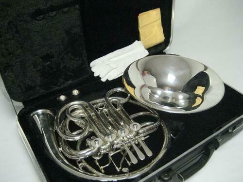 Professional Silver Double French Horn
