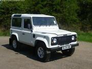 Land Rover Defender 90 White