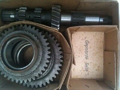 DKW AU 1000S / 1000SP 1959 1960 1961 1962 1963 2ND GEAR AND SHAFT KIT N.O.S