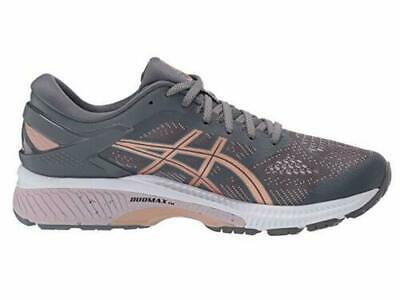 ASICS Women's Gel-Kayano 26 Metropolis/Rose Gold Running Shoe Size 9.5