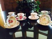 Tea Cup and Saucer Lot