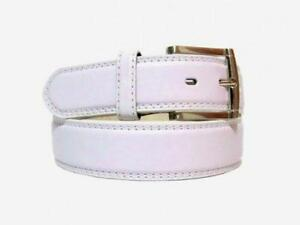 mens white belt ebay