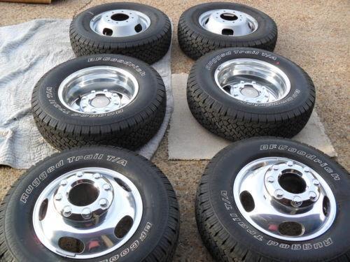 Ford Dually Rims >> F450 Wheels   eBay