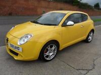 ALFA ROMEO MITO DISTINCTIVE 3 DOOR DIESEL MANUAL £39 PER WEEK 52000 MILES