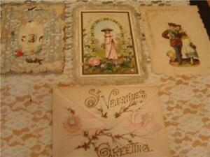 Vintage Valentines Greeting Cards Crafts Projects Vintage Early