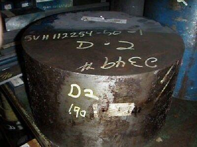 D-2 Tool Steel Solid Round 12-14 Diam X 6-34 Long