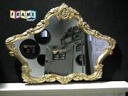 Ornate Overmantle Mirror