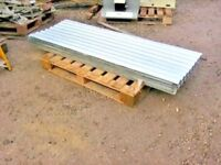 1 no used / second hand corrugated roofing sheets 6ft long ex army / mod