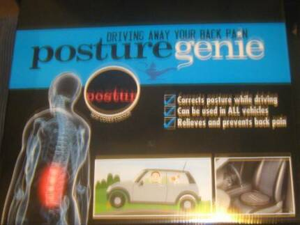 POSTURE GENIE SEAT NEW_STOPS PAIN WHILE DRIVING_CORRECTS  POSTURE Eight Mile Plains Brisbane South West Preview