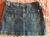 Denim Mini Skirt Size 14