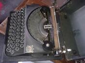Typewriter with Ribbon