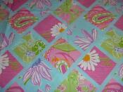Lilly Pulitzer Fabric 2 Yards