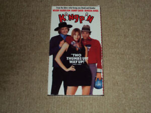 KINGPIN, VHS MOVIE, EXCELLENT CONDITION